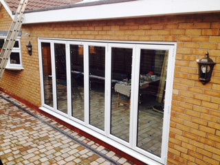 bi-folding doors, home improvement in stourport, birmingham, west midlands